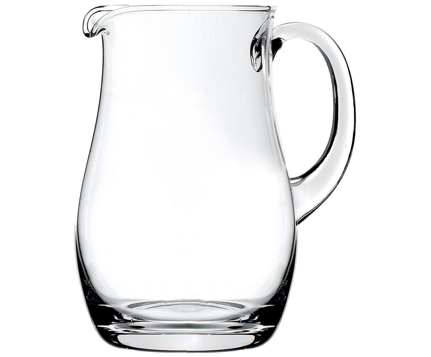 Dzbanek z kryształu Brocca, Szkło kryształowe, Transparentny, 1,5 l