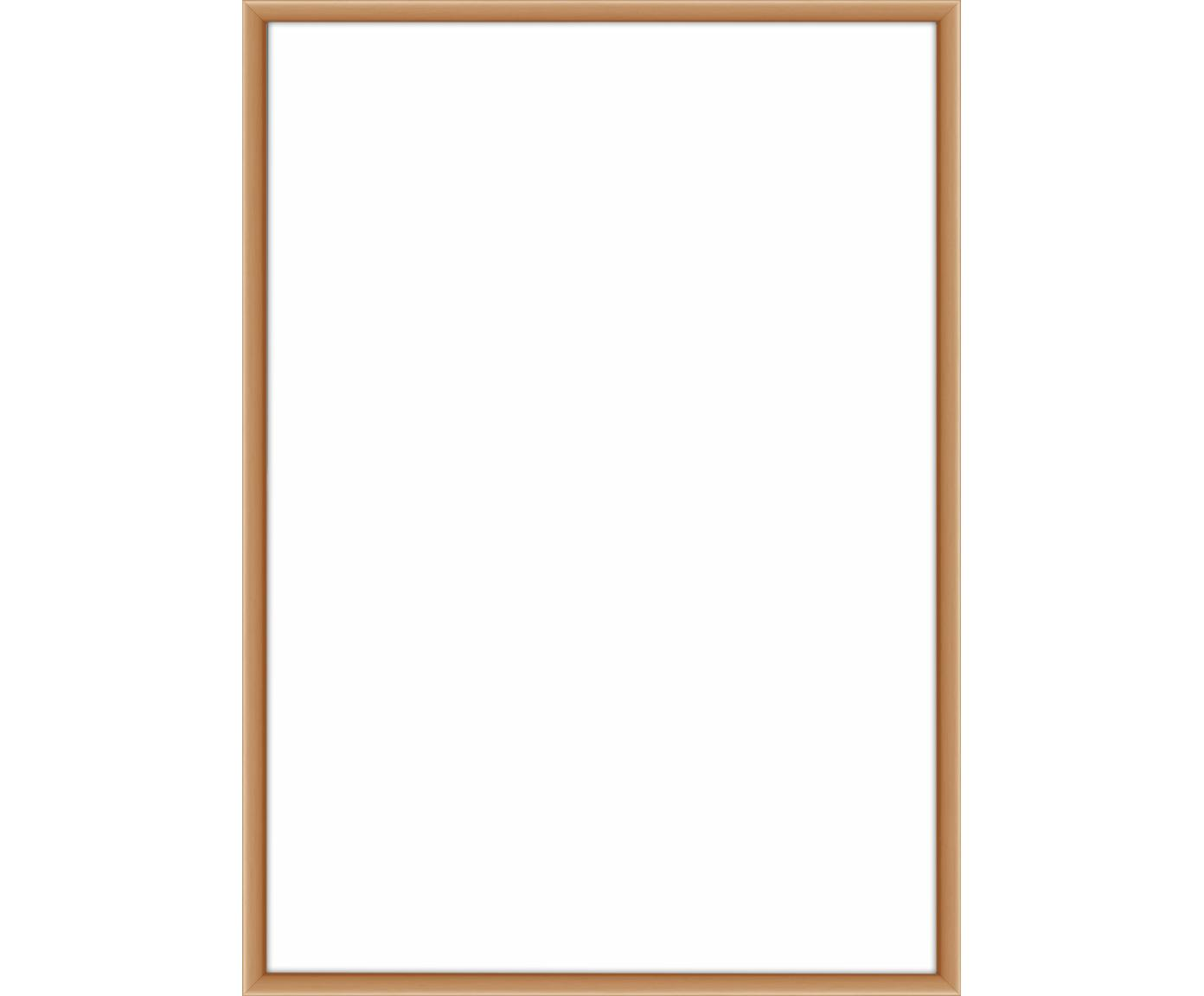 Fotolijstje Accent, Lijst: gecoat aluminium, Koperkleurig, 21 x 30 cm