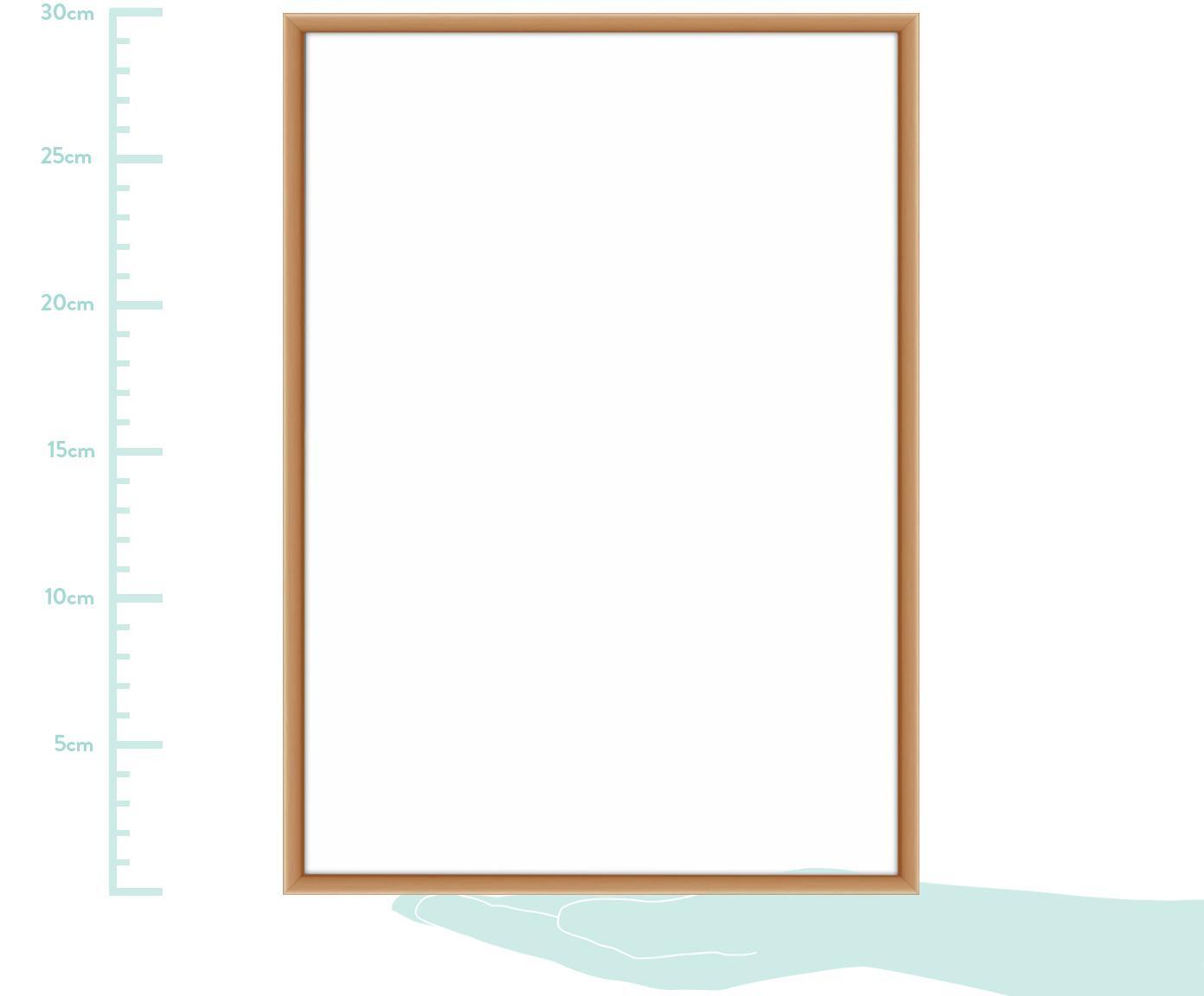 Ramka na zdjęcia Accent, Odcienie miedzi, 21 x 30 cm