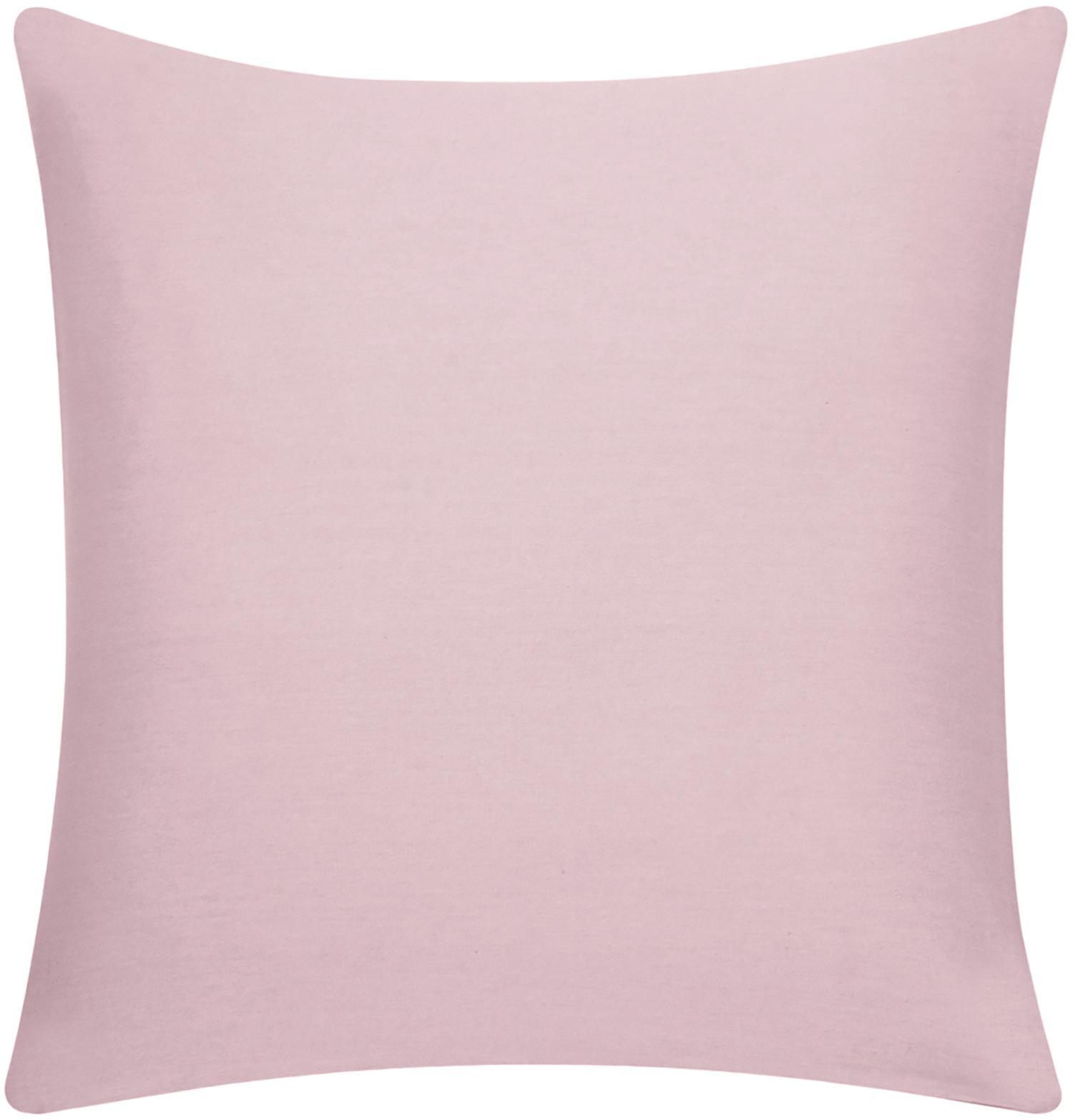 Federa arredo in cotone rosa Mads, Cotone, Rosa, Larg. 50 x Lung. 50 cm