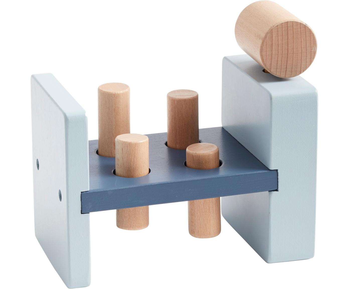 Spielzeug-Set Aiden, Holz, Blau, Holz, 19 x 10 cm