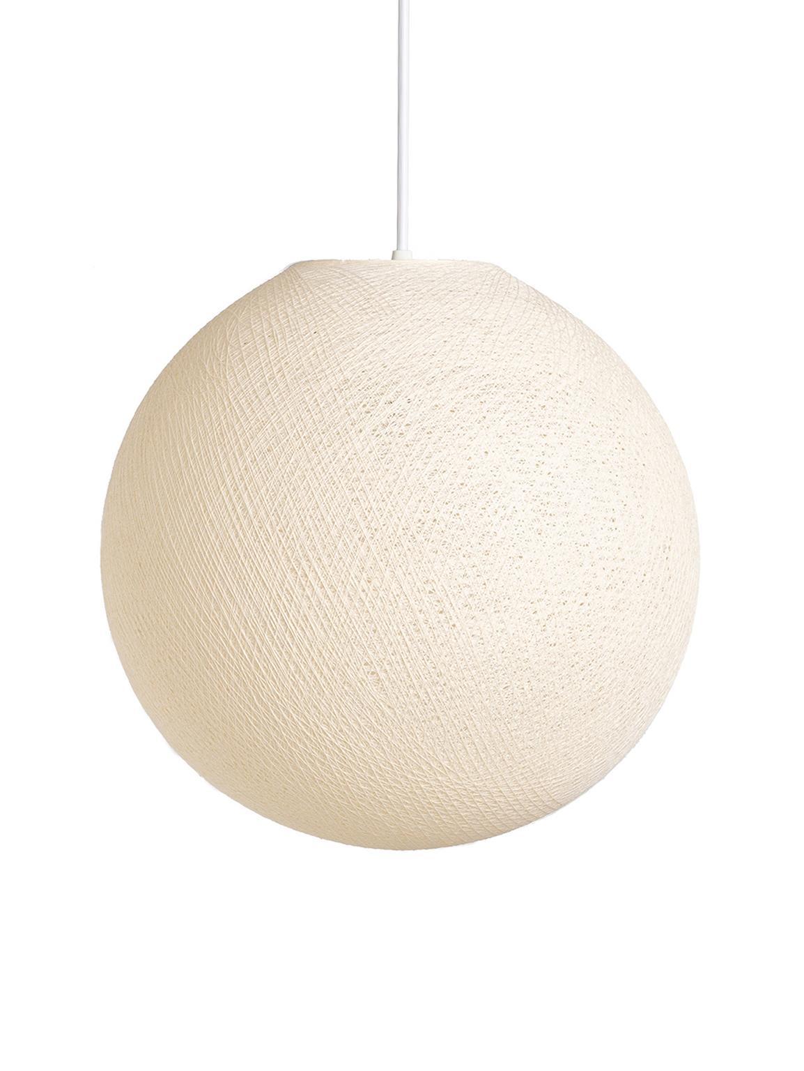 Lampada a sospensione Colorain, Beige, Ø 41 x Alt. 135 cm