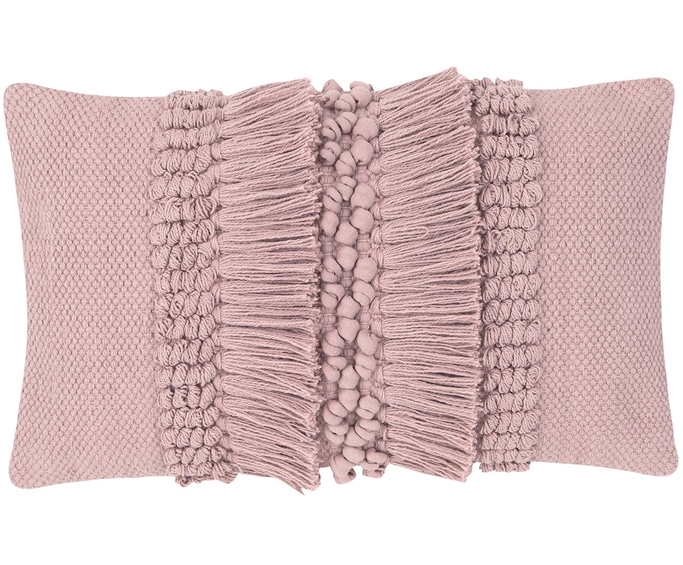 Kissenhülle Monika, 100% Baumwolle, Altrosa, 30 x 50 cm