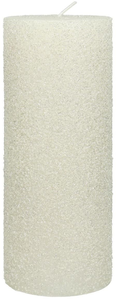 Vela pilar Flair, Cera, Blanco, Ø 7 x Al 18 cm