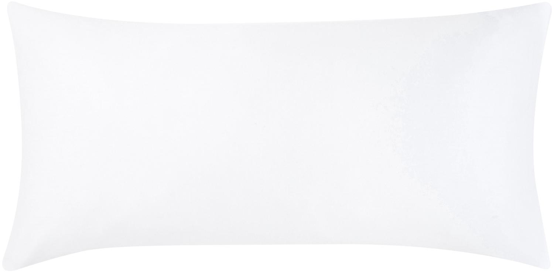 Poszewka na poduszkę z satyny bawełnianej Comfort, 2 szt., Biały, S 40 x D 80 cm