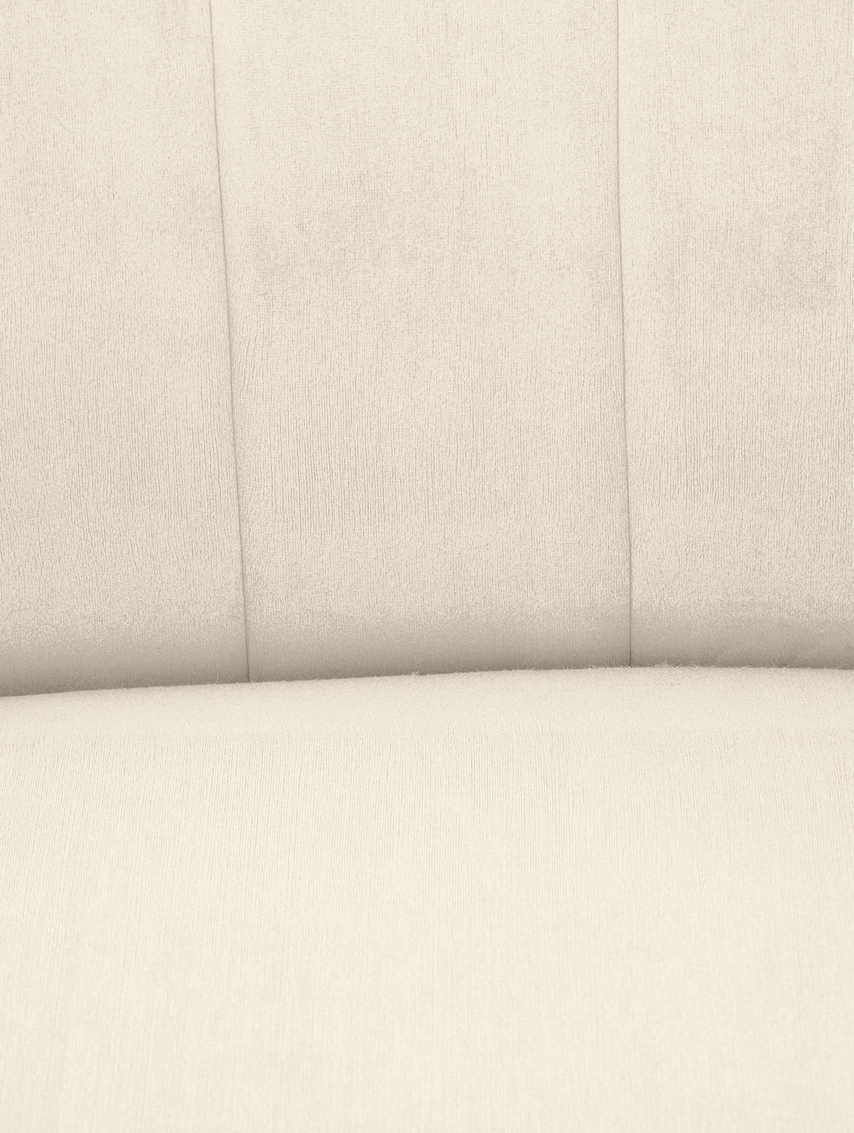 Samt-Cocktailsessel Emilie, Bezug: Samt (Polyester) 50.000 S, Samt Beige, B 75 x T 76 cm
