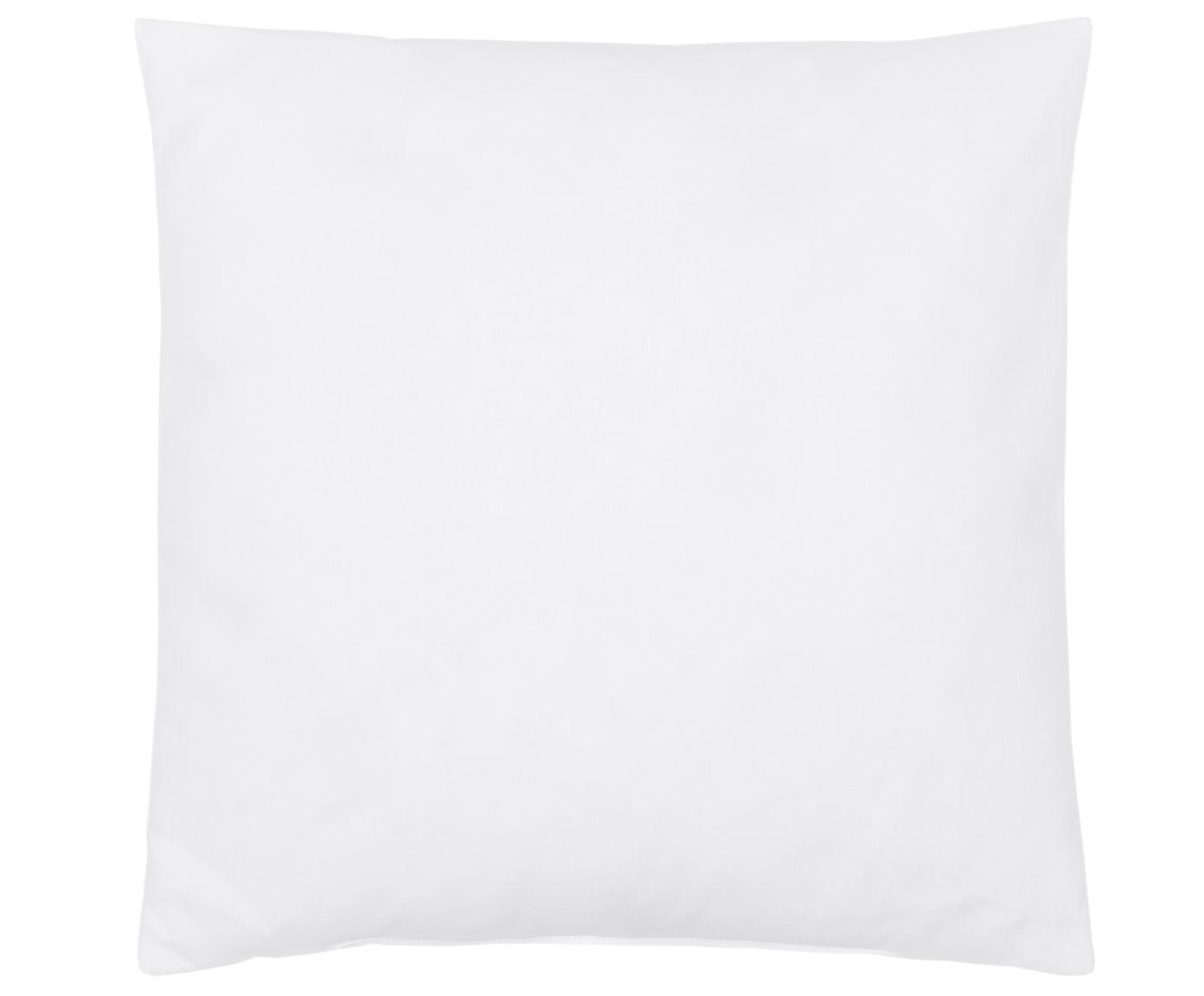 Kissen-Inlett Sia, 40x40, Microfaser-Füllung, Hülle: 100% Baumwolle, Weiss, 40 x 40 cm