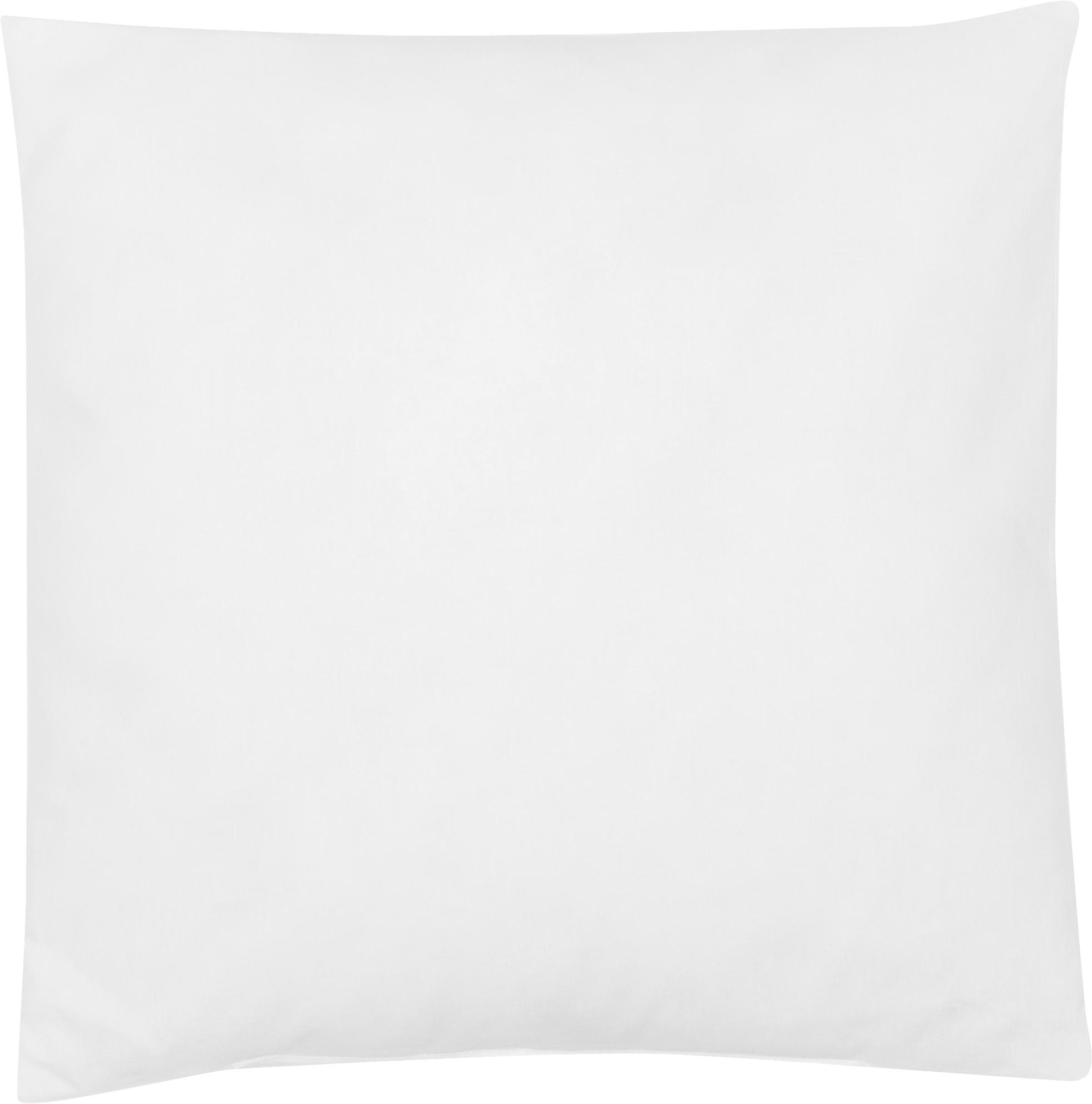 Relleno de cojín de microfibras Sia, 40x40, Funda: 100%algodón, Blanco, An 40 x L 40 cm