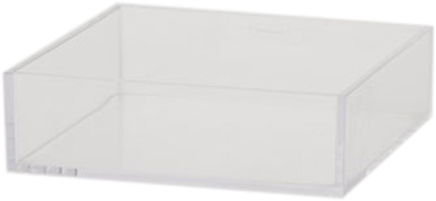 Dienblad Clear, Acryl, Transparant, 16 x 16 cm