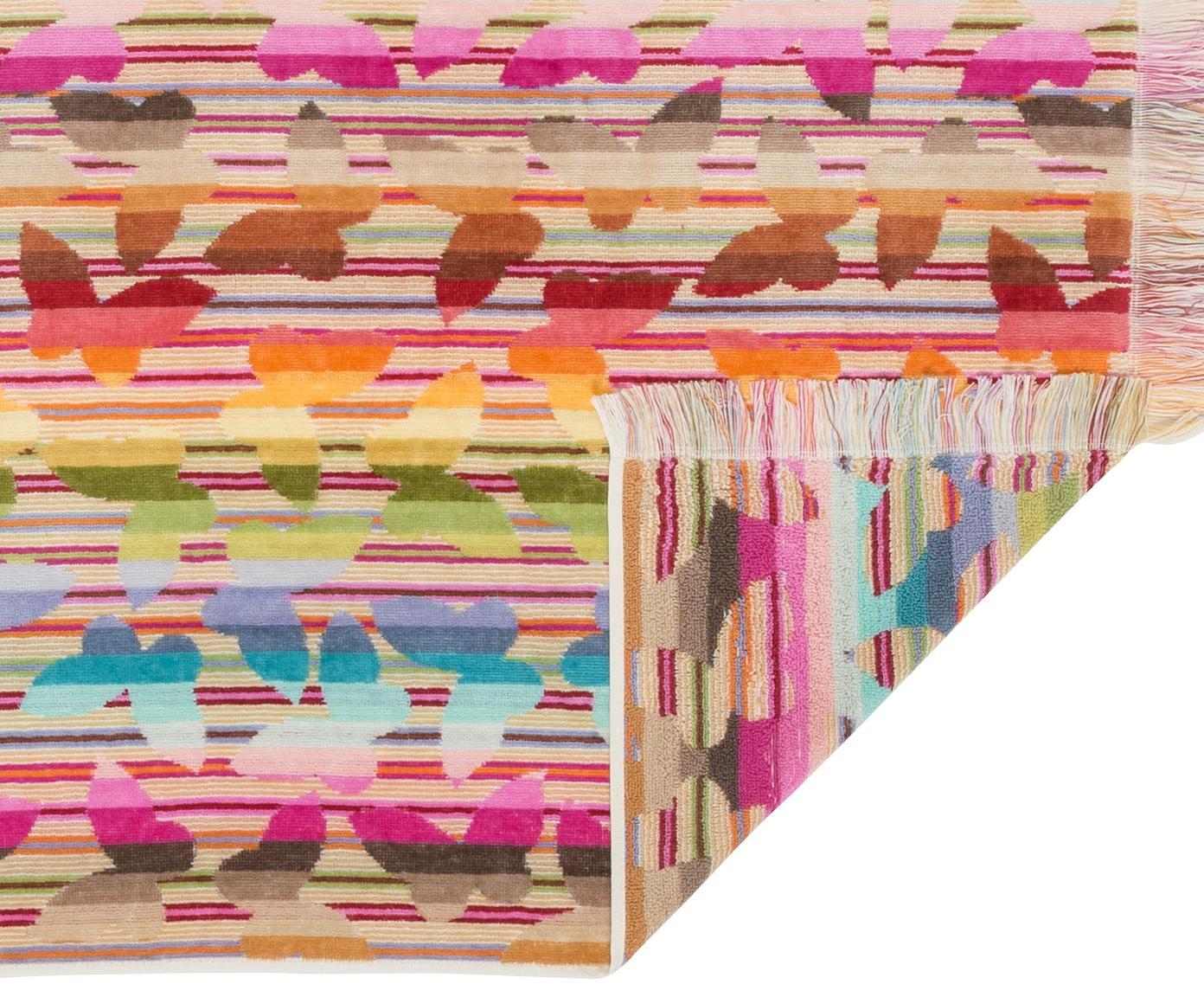 Set asciugamani Josephine 2 pz, Rosso, multicolore, Diverse dimensioni