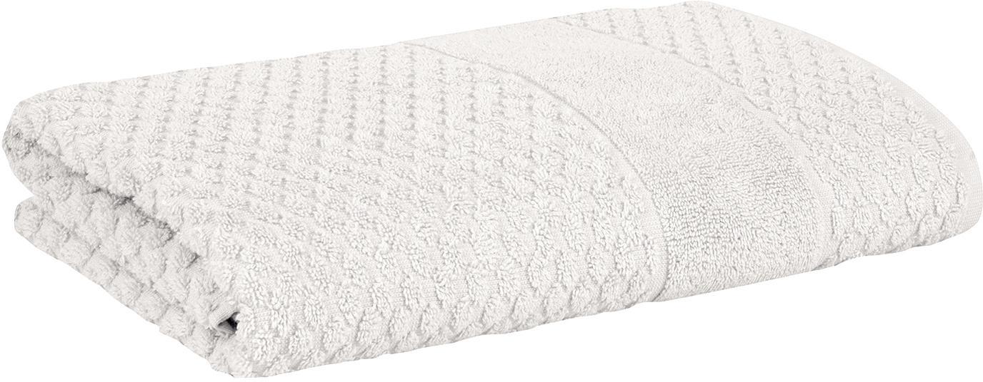 Handdoek Katharina, 100% katoen, Middelzware kwaliteit 500 g/m², Zilvergrijs, Handdoek