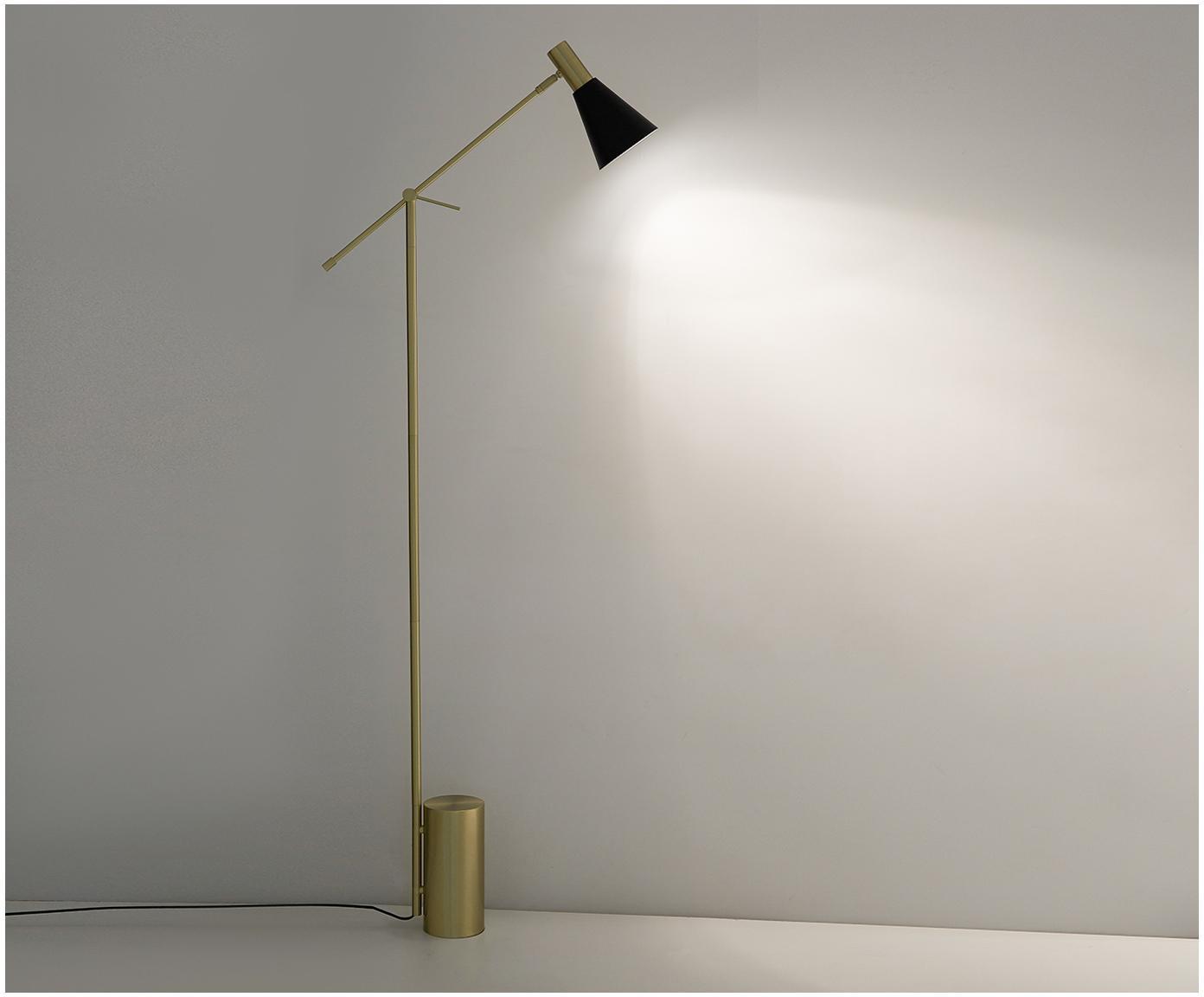 Lampa podłogowa Sia, Czarny, Ø 14 x W 162 cm