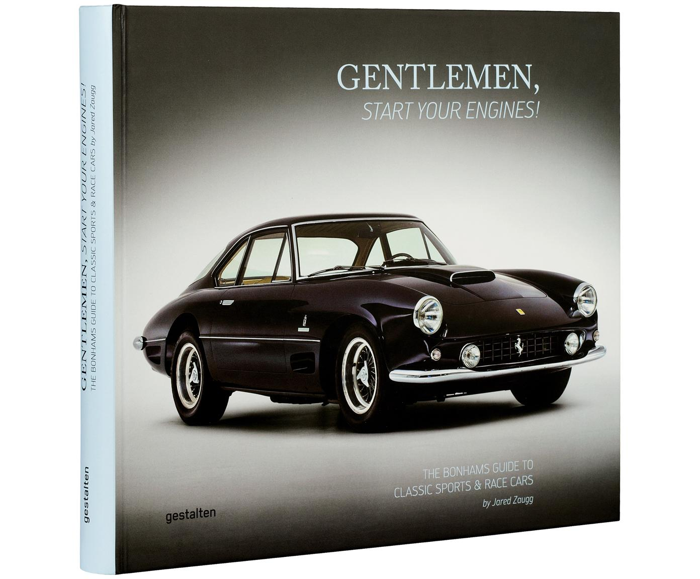 Libro ilustrado Gentlemen, start your engines!, Papel, tapa dura, Multicolor, An 27 x L 30 cm