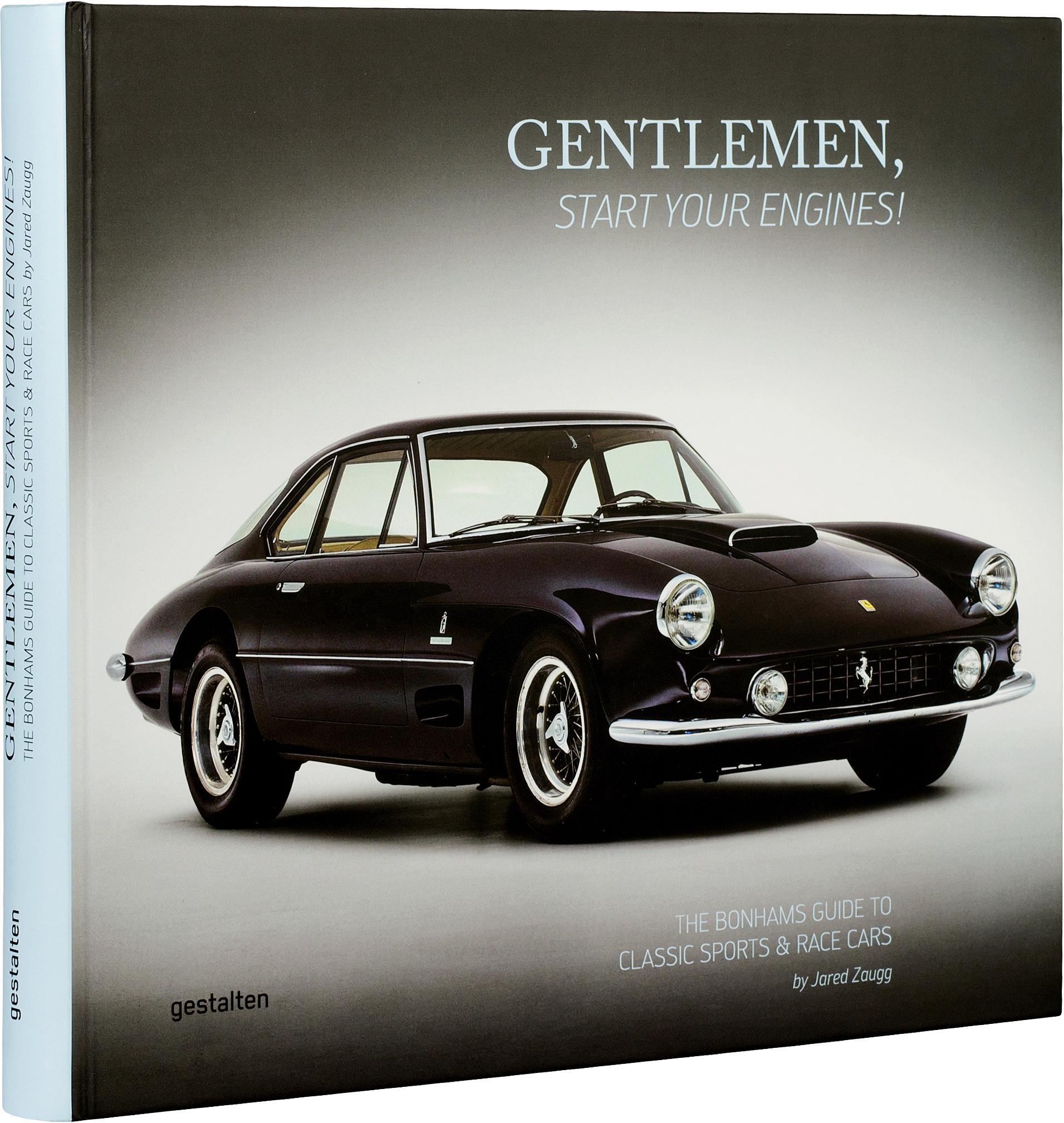 Album Gentlemen, start your engines!, Papier, twarda okładka, Wielobarwny, 27 x 30 cm
