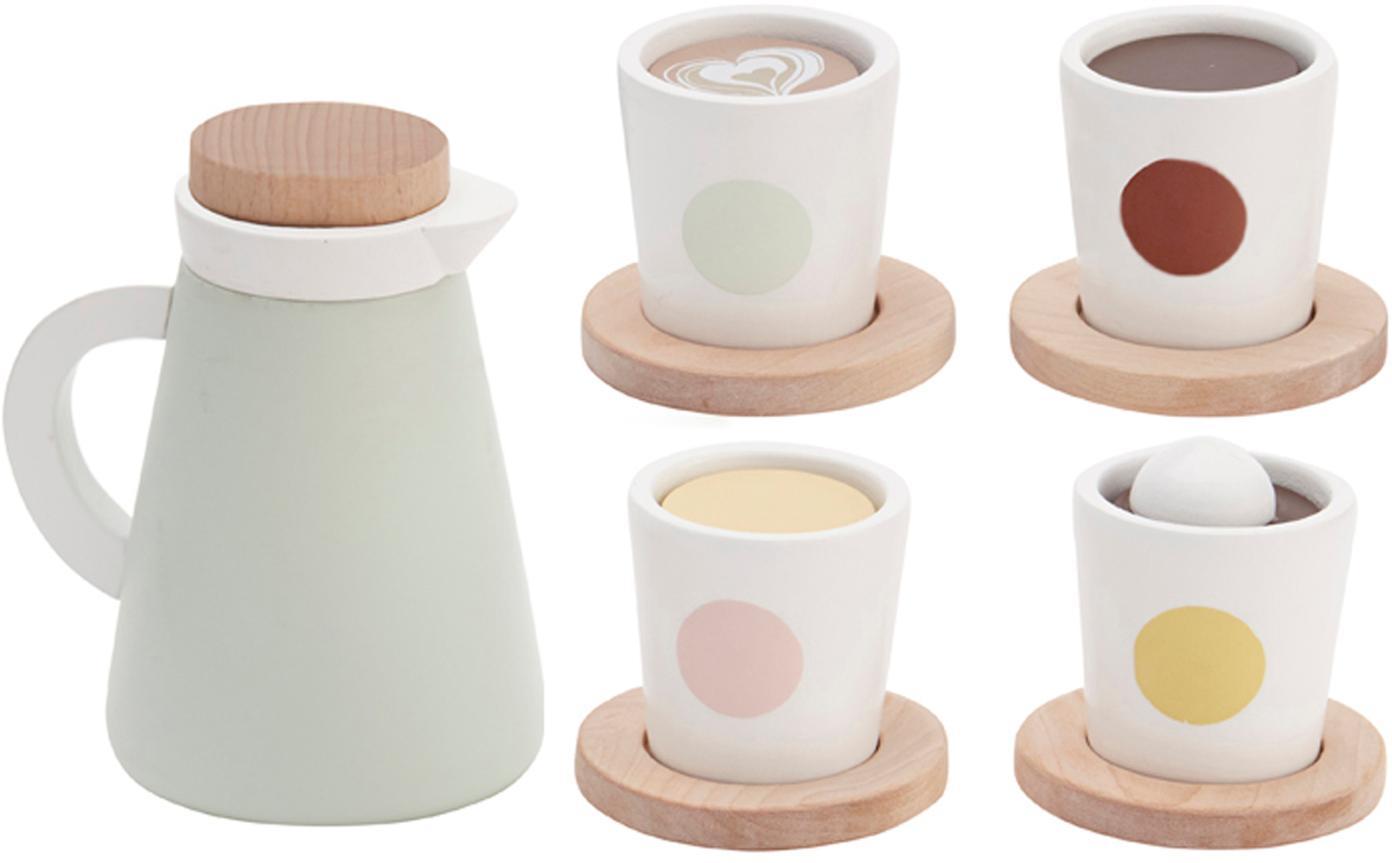 Spielzeug-Set Coffee, Holz, Mehrfarbig, 9 x 12 cm