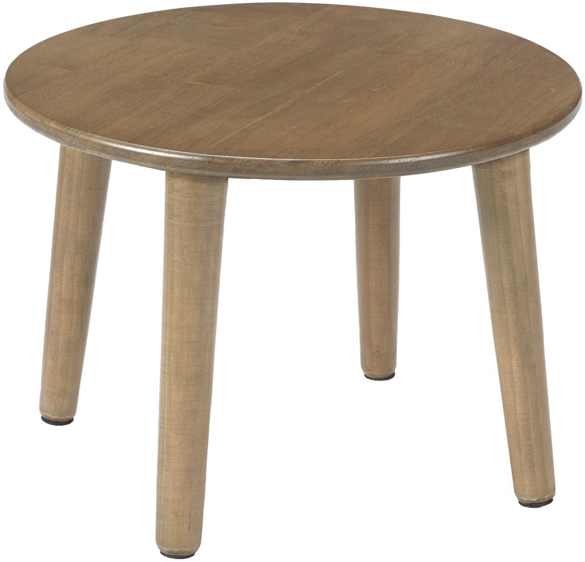 Kindertisch Lounge, Gummibaumholz, lackiert, Gummibaumholz, Ø 34 x H 24 cm
