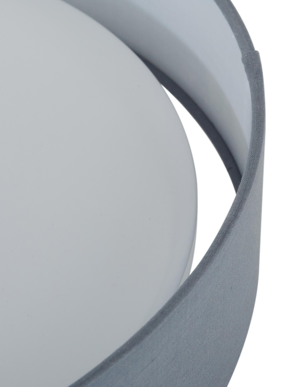 Plafoniera a LED Helen, Struttura: metallo, Grigio, Ø 52 x Alt. 11 cm