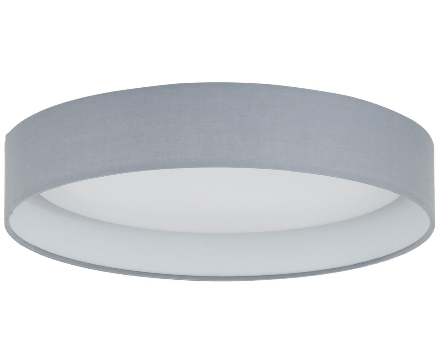 LED-Deckenleuchte Helen, Rahmen: Metall, Diffusorscheibe: Kunststoff, Grau, ∅ 35 x H 7 cm