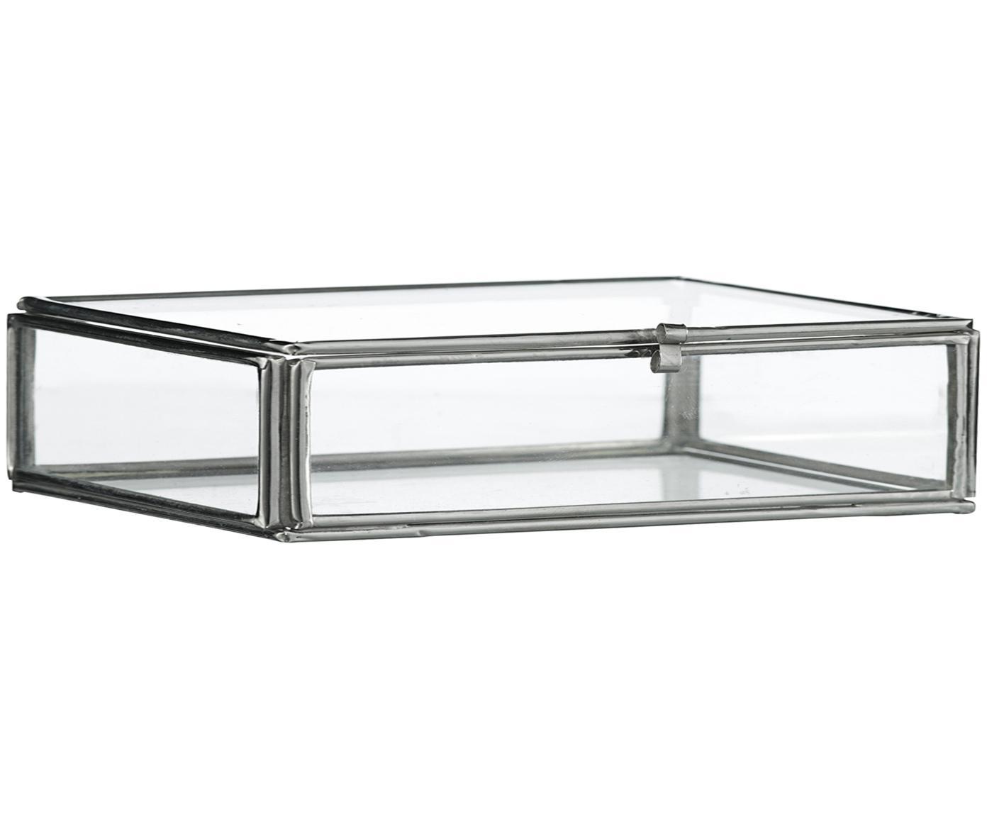 Aufbewahrungsbox Ivey, Rahmen: Metall, beschichtet, Edelstahl, 10 x 3 cm