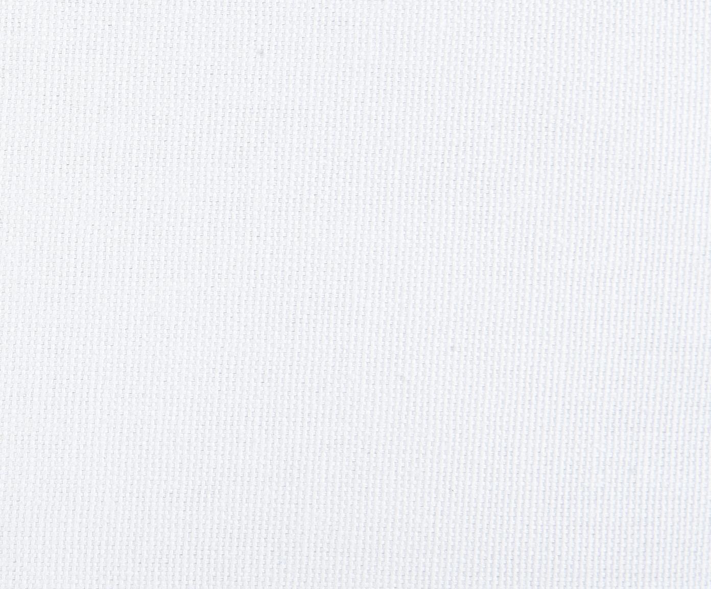 Gepunktete Kissenhülle Riley in Senfgelb/Weiss, 100% Baumwolle, Gelb-Orange, Weiss, 40 x 40 cm