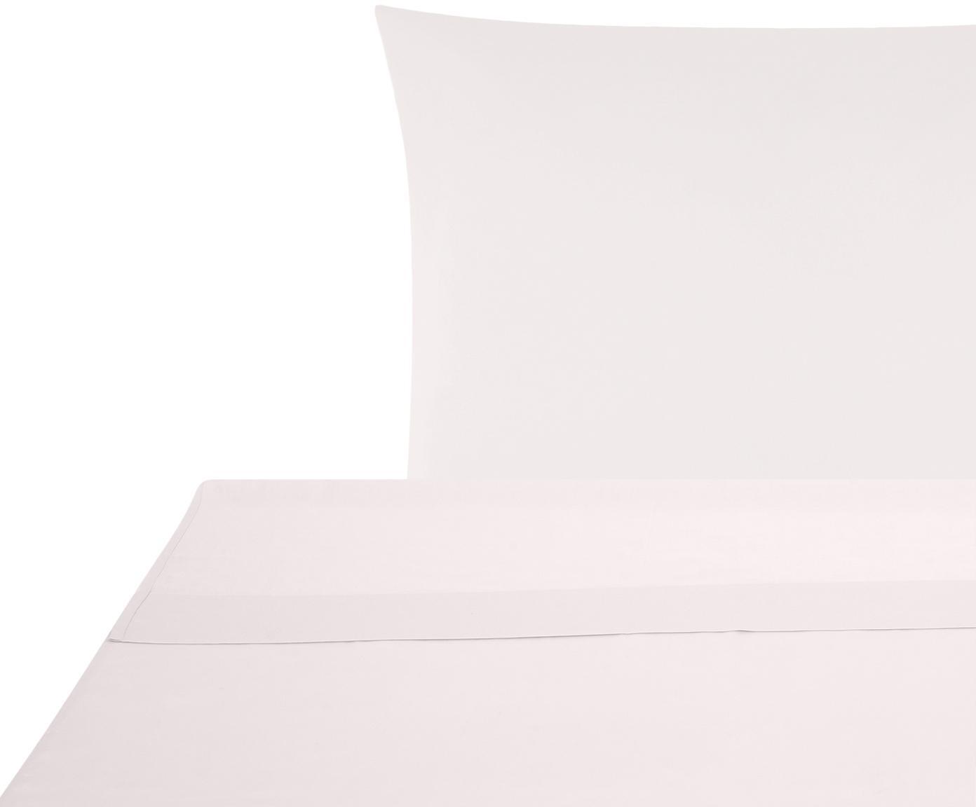 Sábana encimera de satén Comfort, Rosa, Cama 150/160 cm (240 x 270 cm)