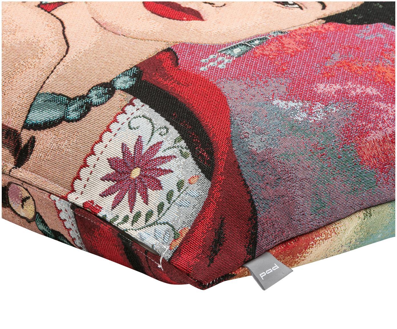 Poszewka na poduszkę Legend, 50% bawełna, 45% poliester, 5% poliakrylonitryl, Wielobarwny, S 45 x D 45 cm