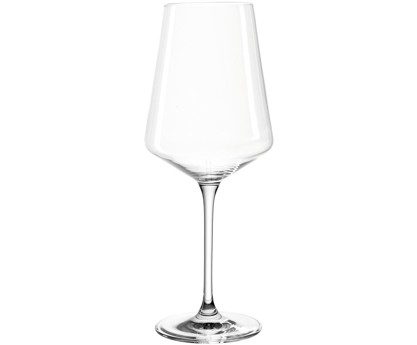 Copas de vino blanco Puccini, 6uds., Vidrio Teqton®, Transparente, Ø 10 x Al 24 cm