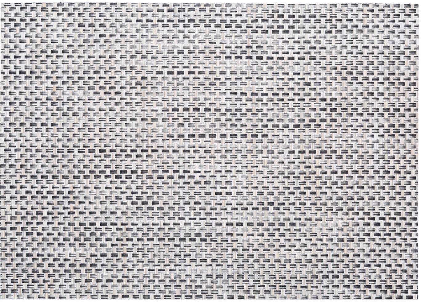 Kunststoff-Tischsets Modern, 2 Stück, Kunststoff, Beige, Hellgrau, 33 x 46 cm