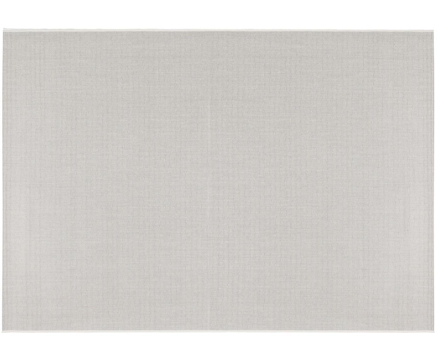 Dywan wewnętrzny/zewnętrzny Metro, Polipropylen, Złamana biel, S 80 x D 150 cm (Rozmiar XS)