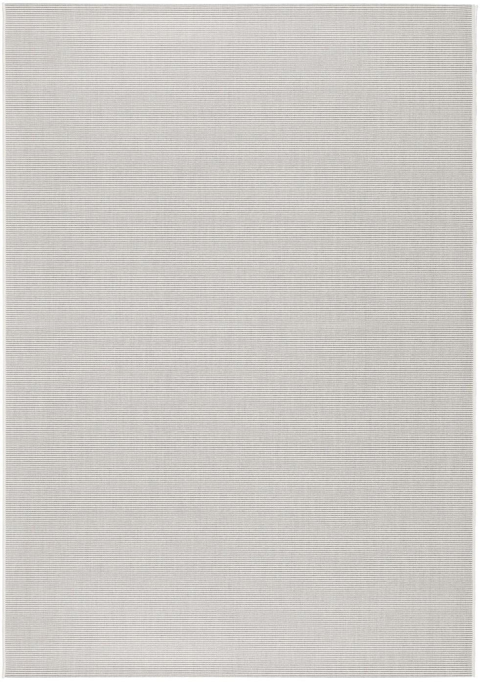 In- & outdoor vloerkleed Metro, Polypropyleen, Gebroken wit, B 80 x L 150 cm (maat XS)