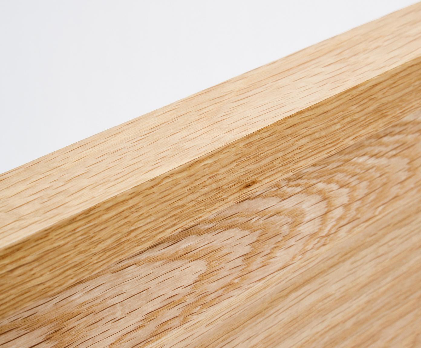 Drevený rám postele s čelom Tammy, Dubové drevo
