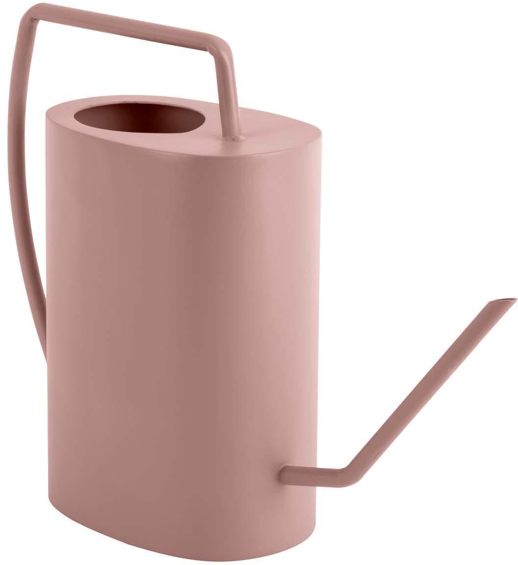 Konewka Grace, Metal powlekany, Blady różowy, S 33 x W 27 cm