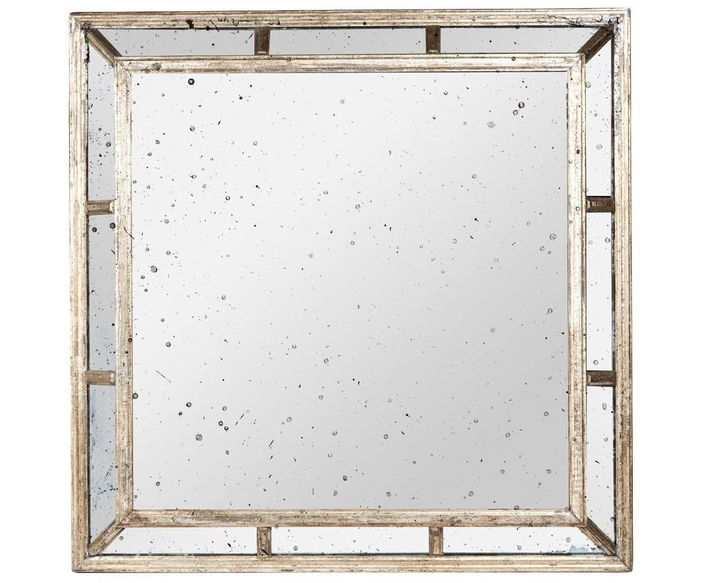 Espejo de pared Little Basia, Metal, espejo de cristal, Latón, An 98 x Al 98 cm