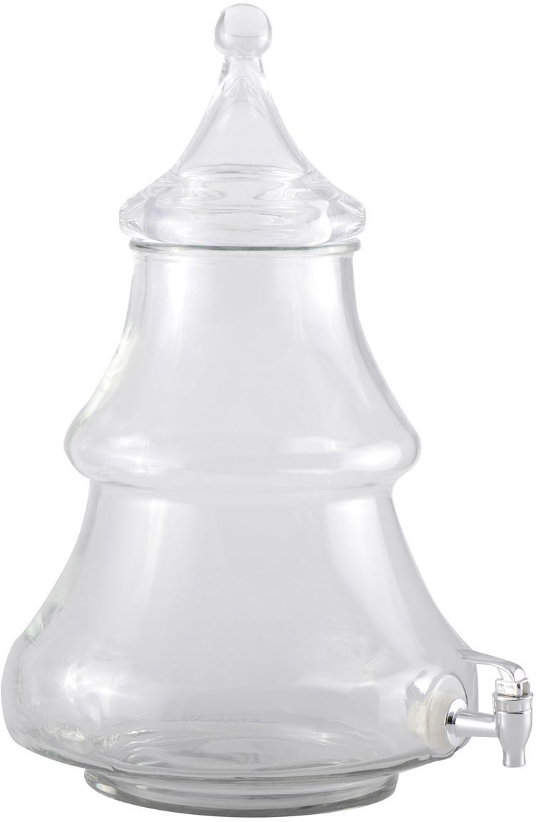 Getränkespender Fir, Glas, Transparent, 1,5 L