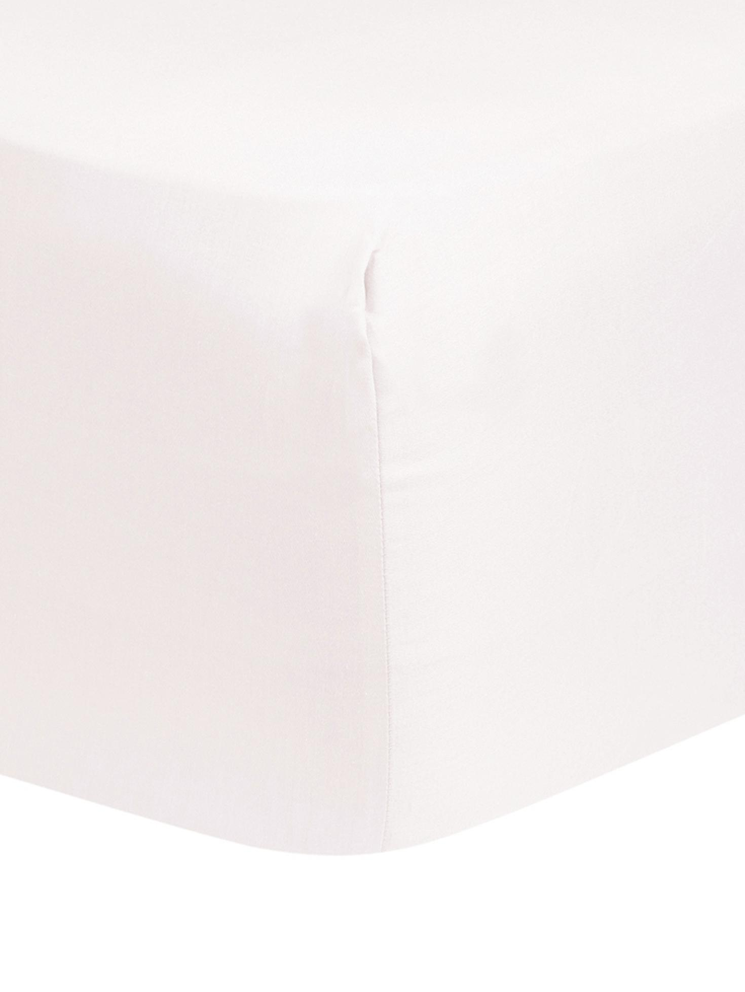 Sábana bajera de satén Comfort, Rosa, Cama 135/140 cm (140 x 200 cm)