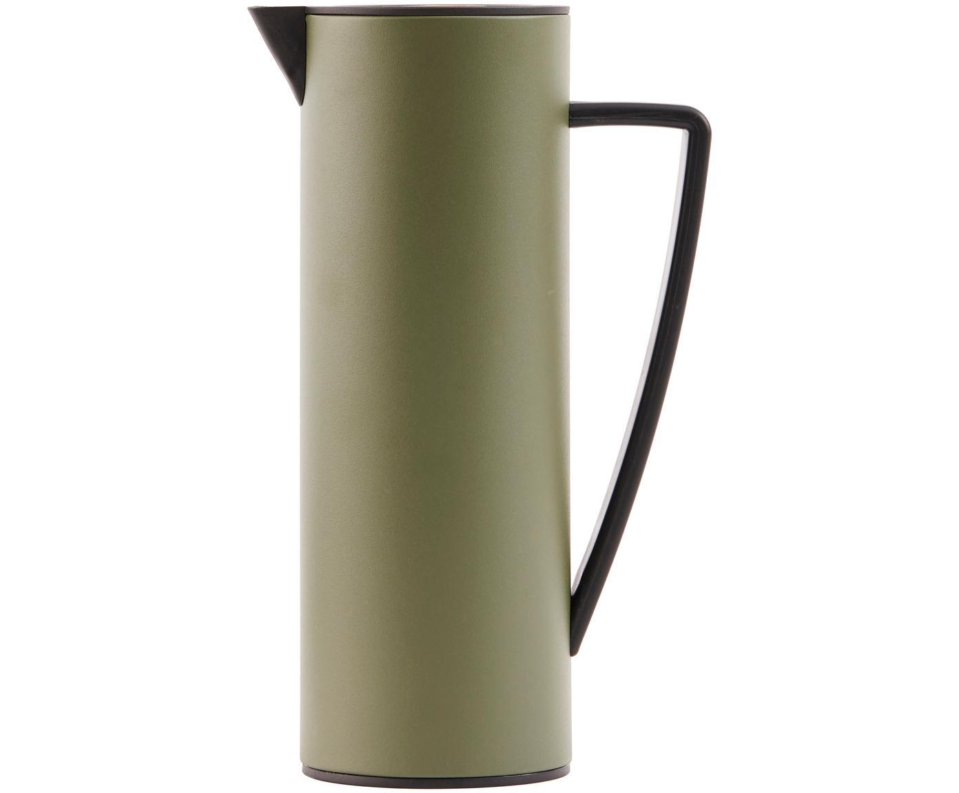 Termos Java, Oliwkowy zielony, czarny, 1 l