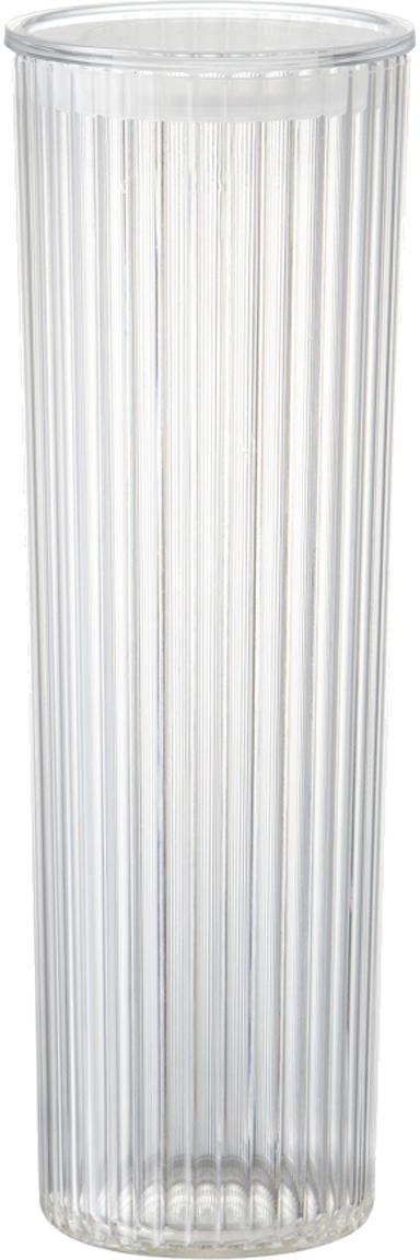 Aufbewahrungsdose Fonte aus Kunststoff, Kunststoff (PMS), Transparent, Ø 11 x H 31 cm