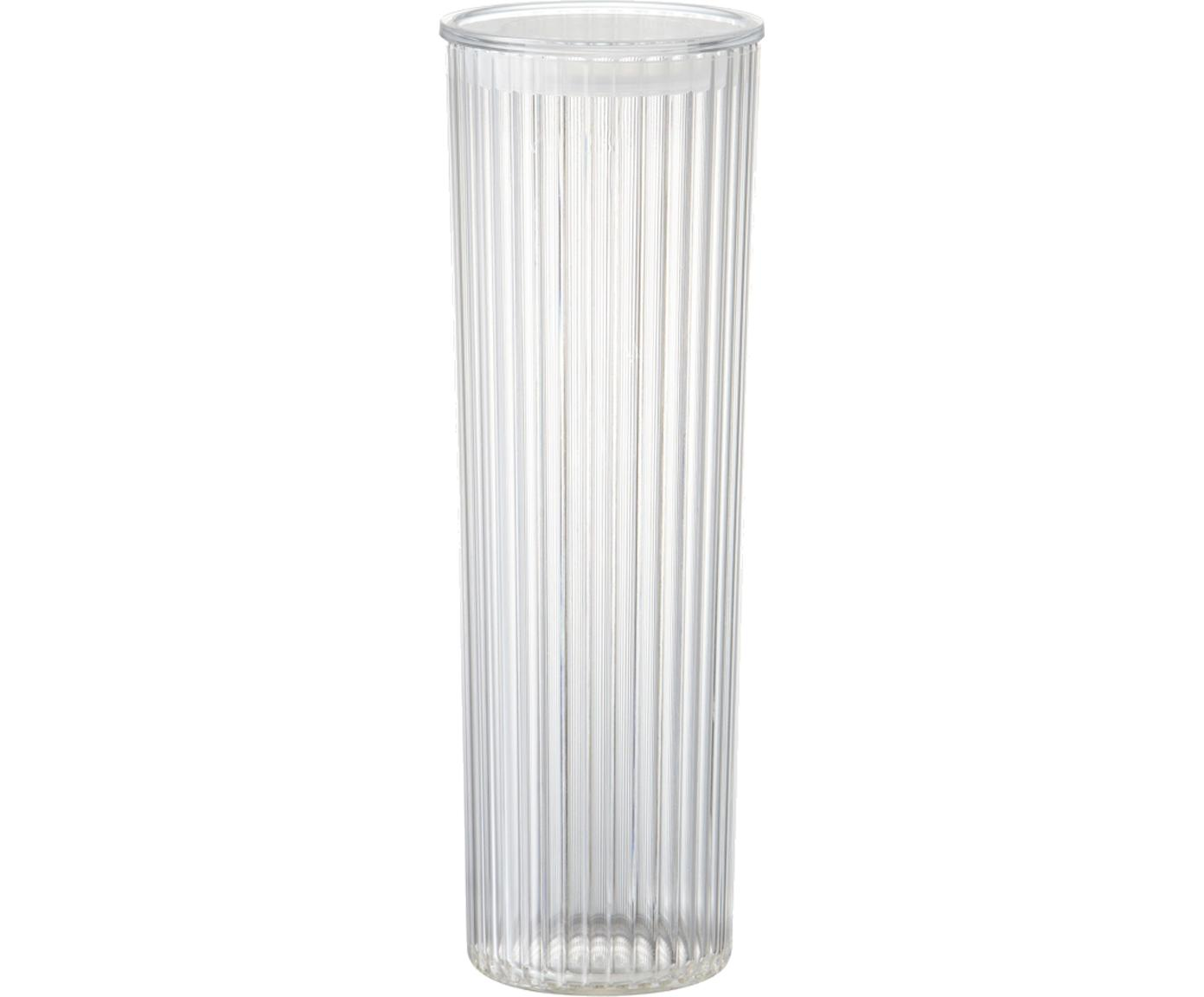 Bote de plástico Fonte, Plástico (PMS), Transparente, Ø 11 x Al 31cm