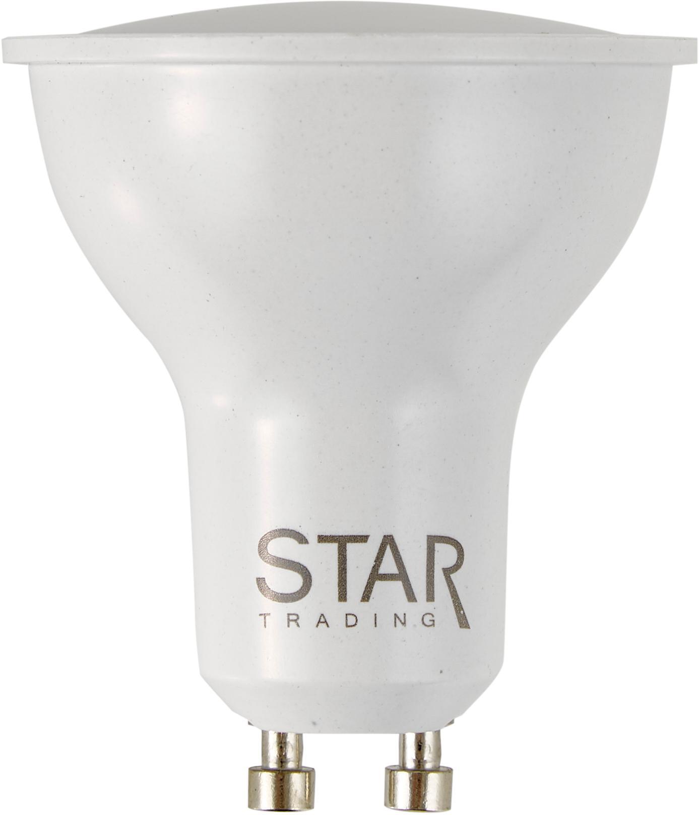 Dimmbares LED Leuchtmittel Dim To Warm (GU10/5.5W), Leuchtmittelschirm: Kunststoff, Leuchtmittelfassung: Aluminium, Weiß, Ø 5 x H 6 cm