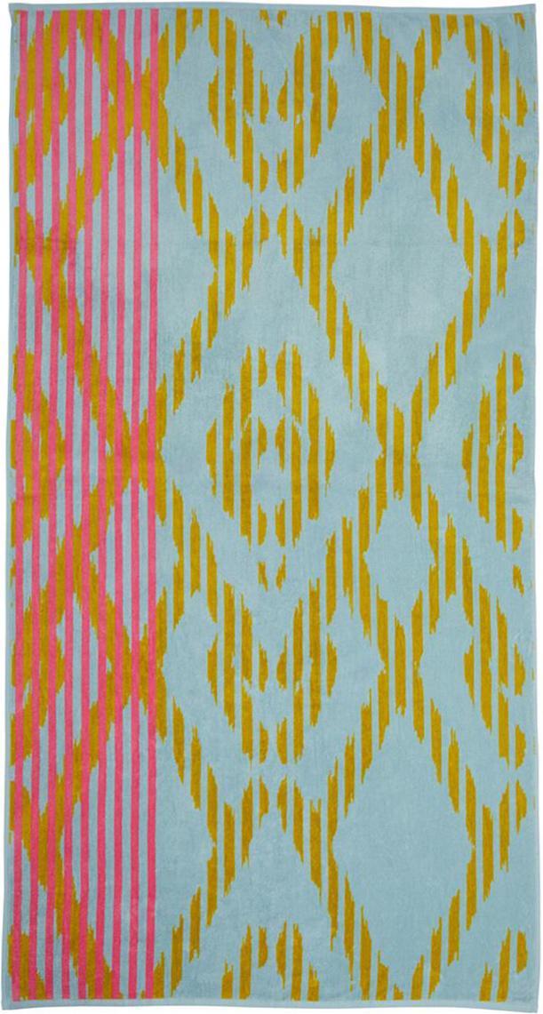 Strandtuch Sunlight, Mehrfarbig, 100 x 180 cm