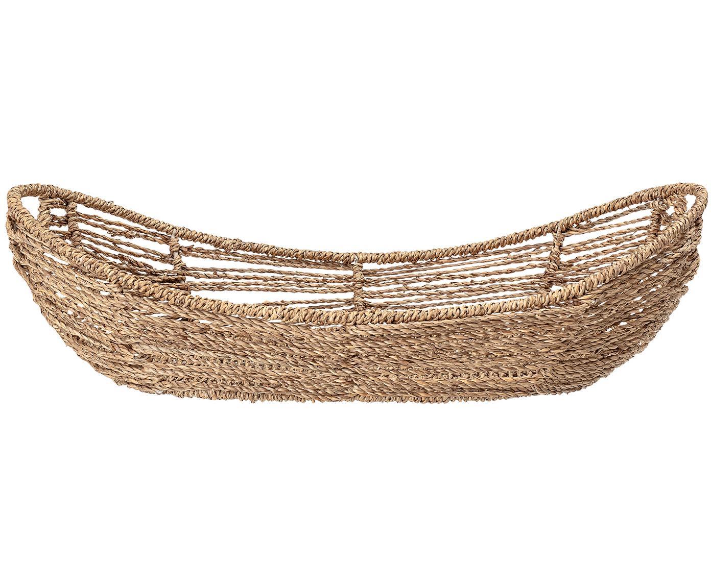 Cestino per pane in fibra naturale Garea, Alghe, Alghe, Larg. 49 x Alt. 13 cm