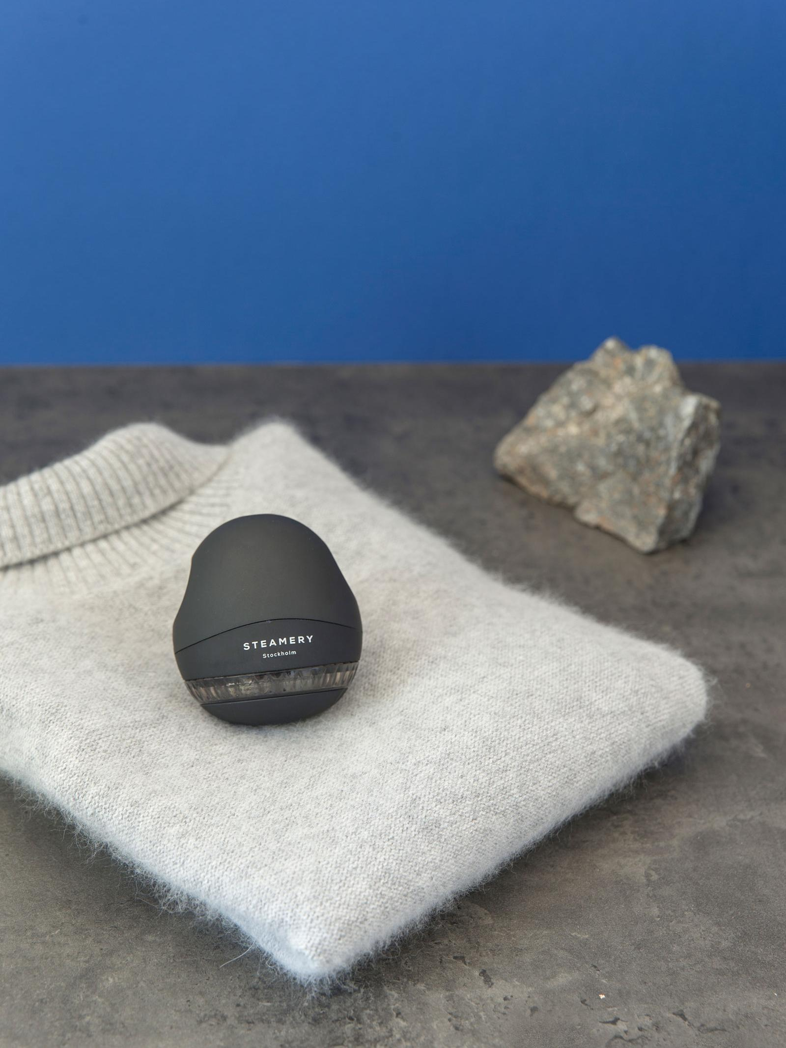 Fusselrasierer Pilo, Kunststoff, Aluminium, Schwarz, Ø 7 cm