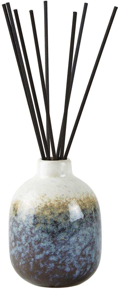 Diffuser Sea Salt (Kokosnuss & Meersalz), Behälter: Keramik, Blautöne, Weiss, Ø 7 x H 10 cm