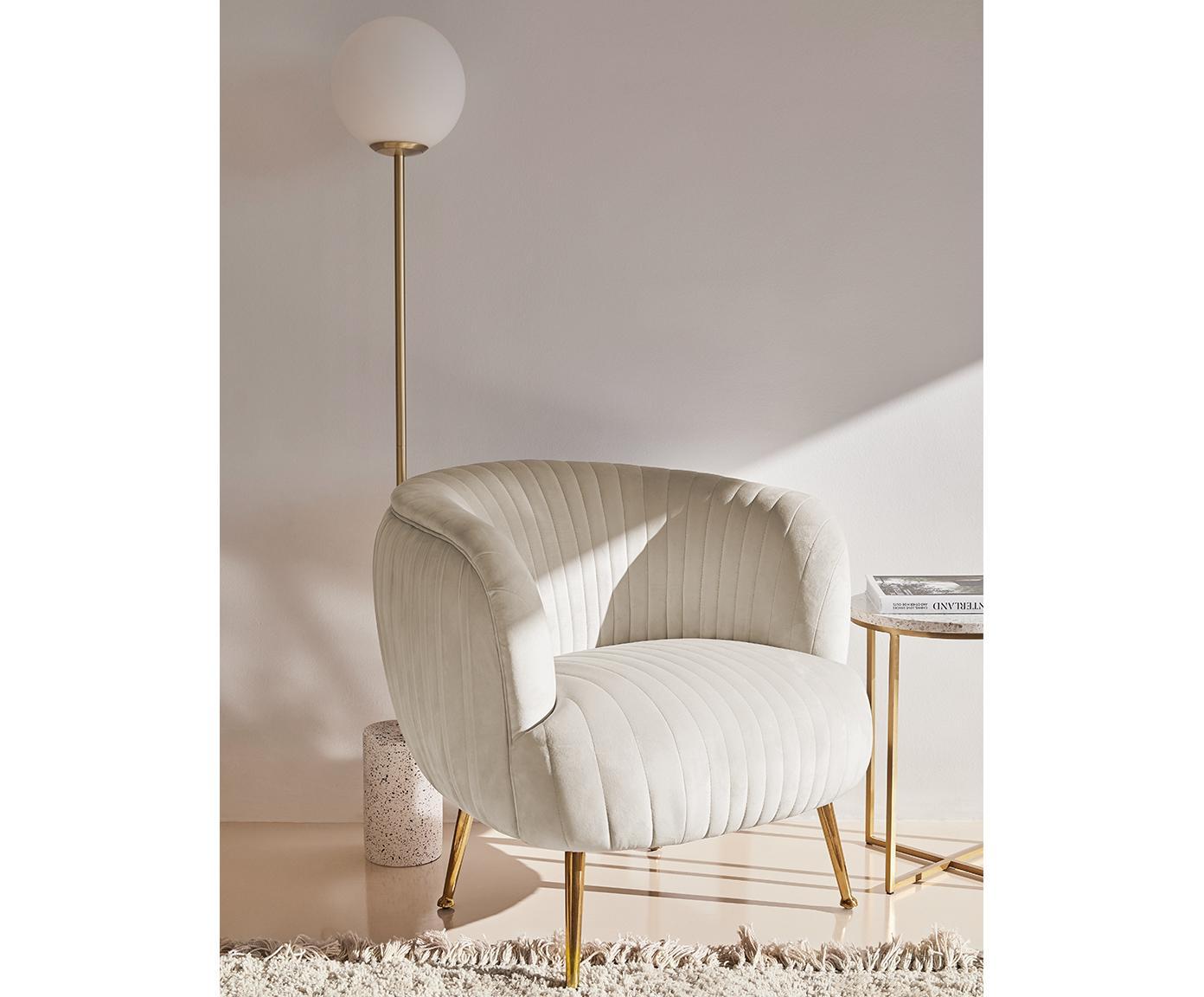 Lampa podłogowa Mosaik, Klosz: biały podstawa lampy: biały, wzór lastriko, odcienie brązu, matowy, Ø 25 x W 160 cm