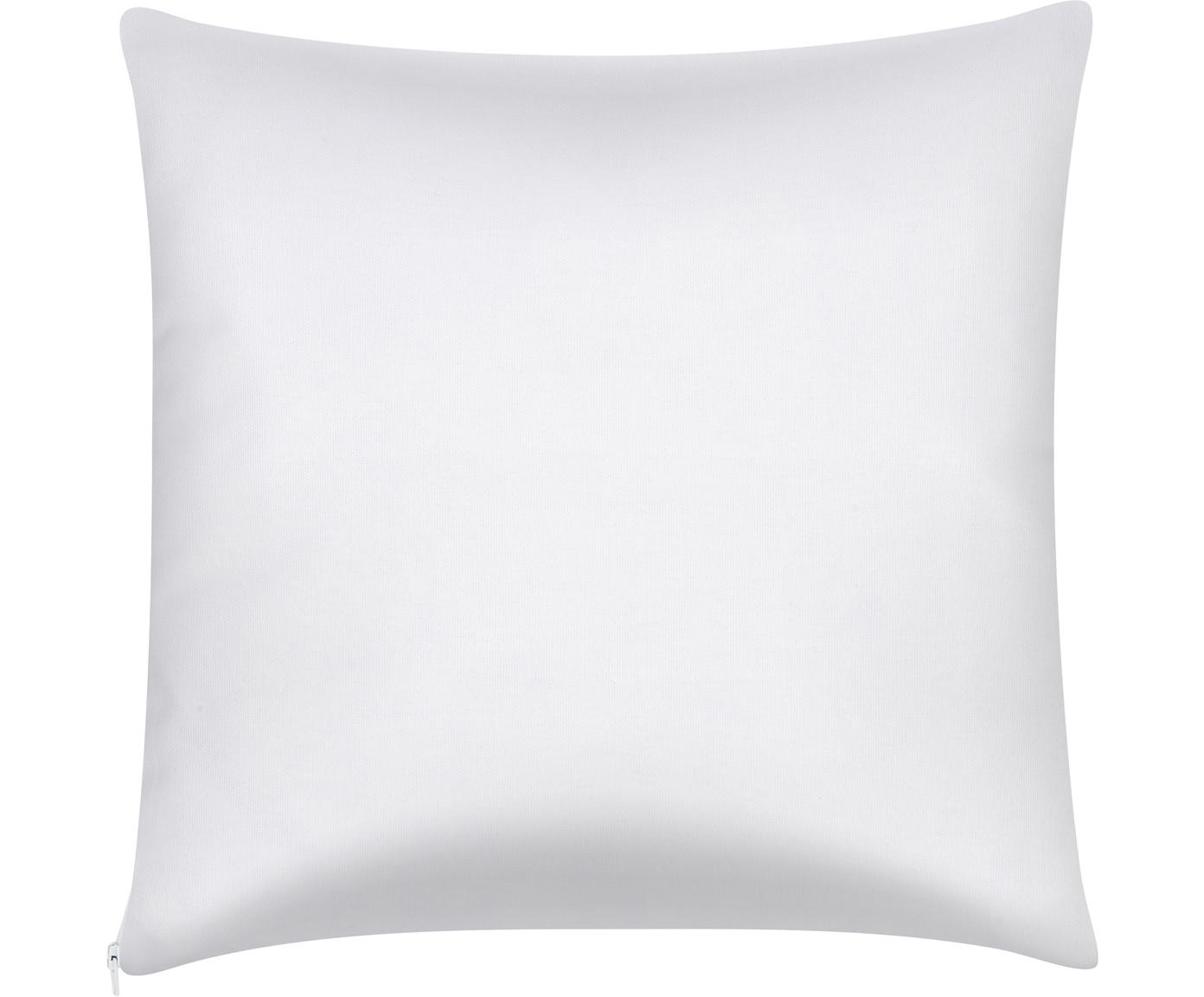 Poszewka na poduszkę Mia, Bawełna, Żółty, biały, S 40 x D 40 cm