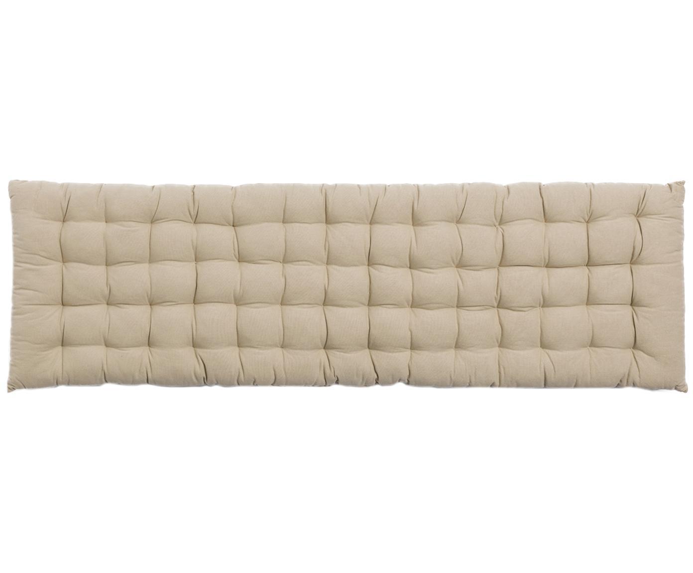 Cuscino sedia lungo Gavema, Beige, Larg. 40 x Lung. 113 cm