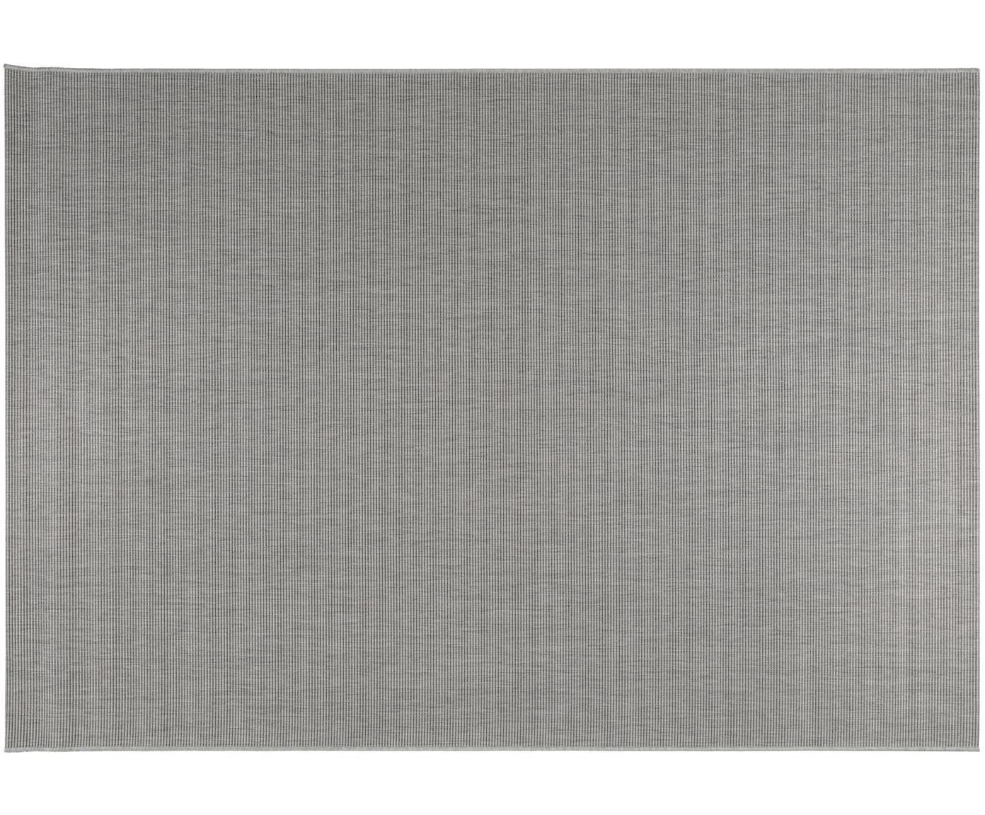 Alfombra de interior/exterior Metro, Polipropileno, Gris claro, An 80 x L 150 cm (Tamaño XS)