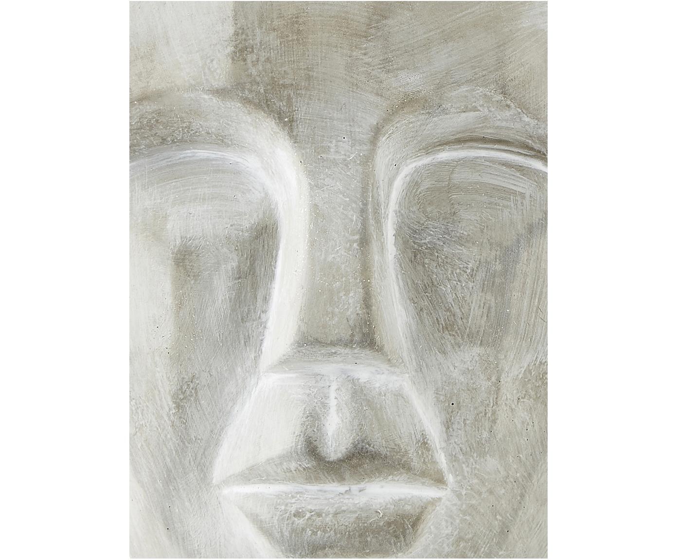 Macetero Smile, Cemento, Gris, Ø 19 x Al 22 cm
