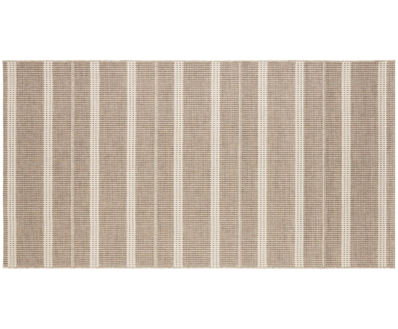 In- und Outdoor Teppich Laon, Jute-Look, 100% Polypropylen, Braun, Beige, B 80 x L 150 cm (Grösse XS)