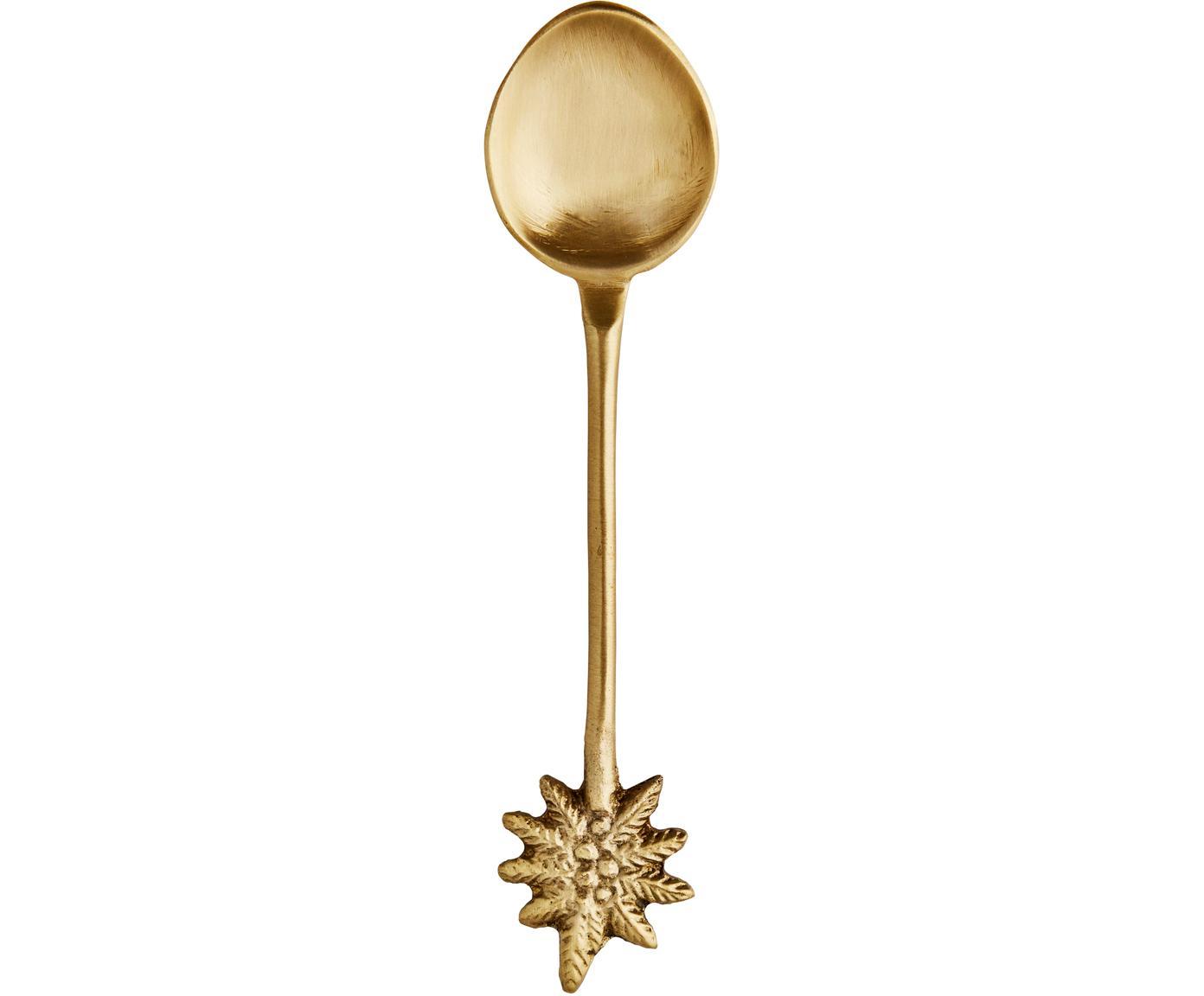 Cucchiaio in ottone color oro Mali, Ottone, Ottone, Lung. 11 cm